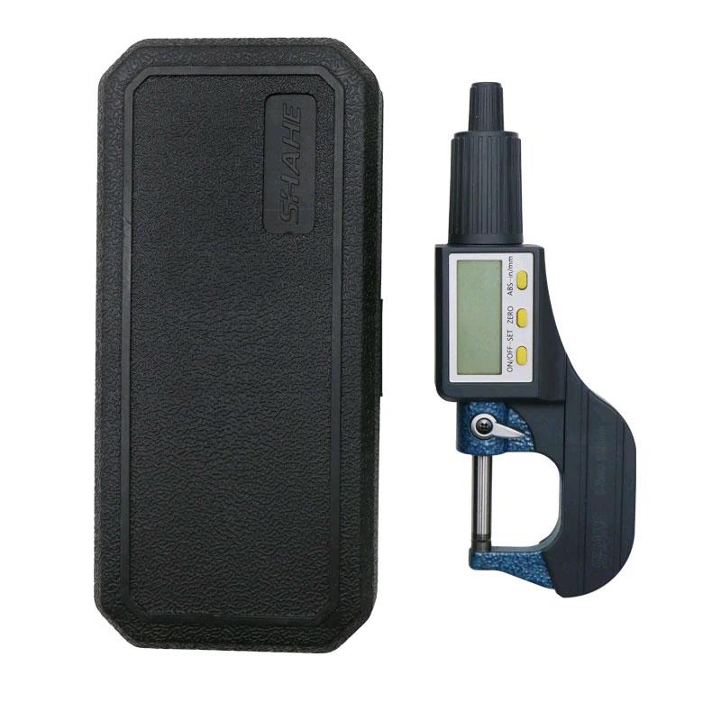SHAHE 5205-25, цифровой микрометр: комплект поставки