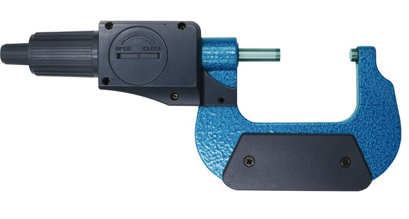 SHAHE 5205-50, цифровой микрометр: регулировка измерительного усилия от 5 до 10 N
