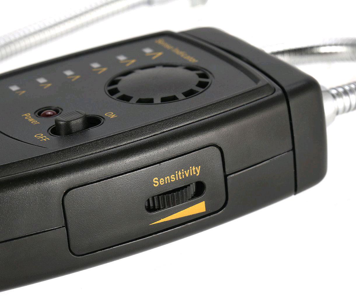 AS5750L детектор утечки фреона: подстройка чувствительности