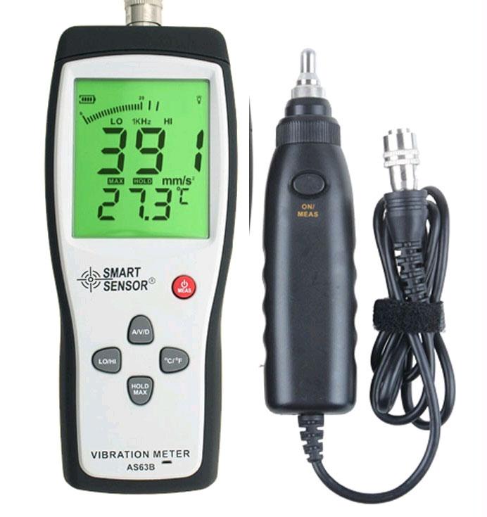 SmartSensor AS63B  удобный инструмент для анализа вибраций