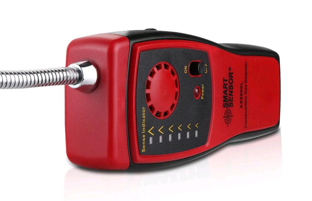AS8800L детектор горючих газов, Smart Sensor: вид со стороны сенсора