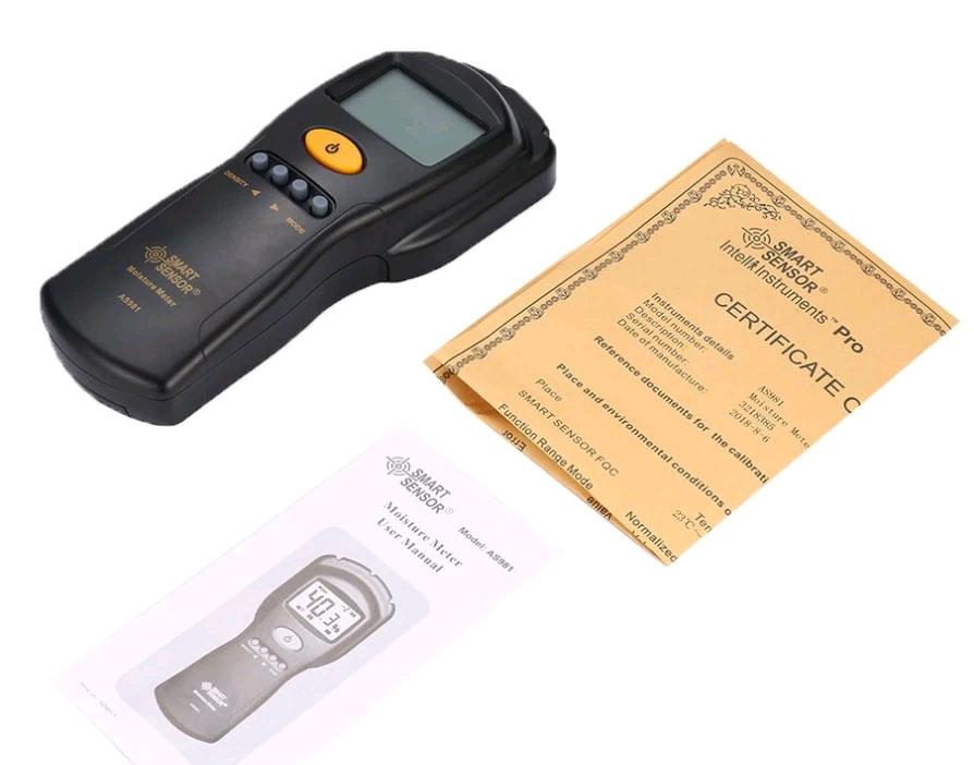 стандартная комплектация влагомера AS981 Smart Sensor