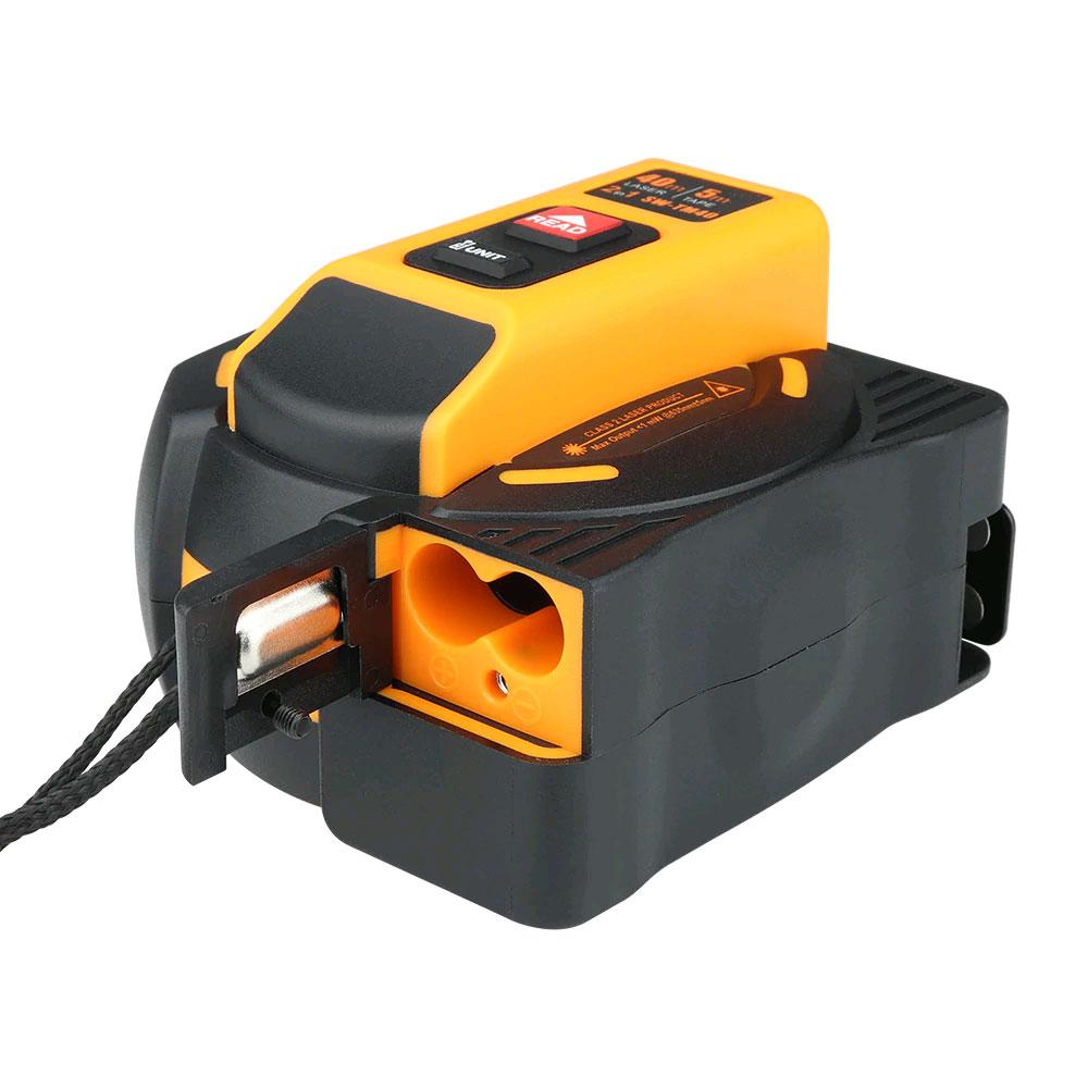 лазерная рулетка SW-TM60: батарейный отсек