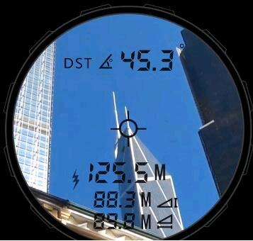 Выполнение косвенных измерений дальномером SW1200A SNDWAY