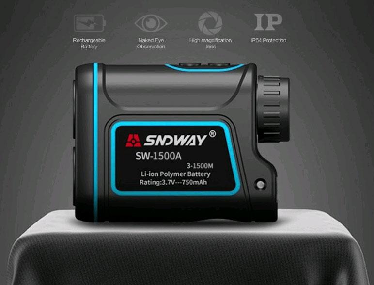 внешний вид лазерного дальномера SW-1500A SNDWAY