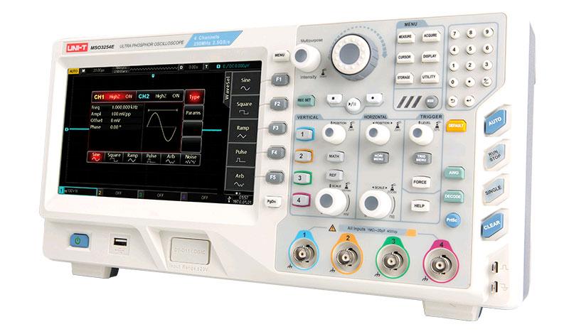 цифровой осциллограф MSO3154E UNI-T