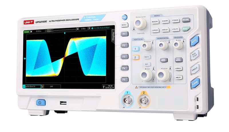 цифровой осциллограф UPO2102E UNI-T