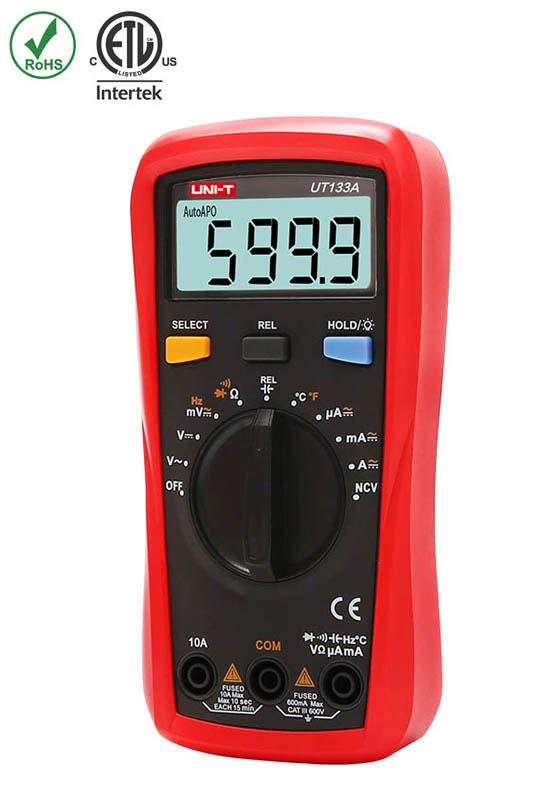 мультиметр UNI-T UT133A: недорогой мультиметр начального уровня