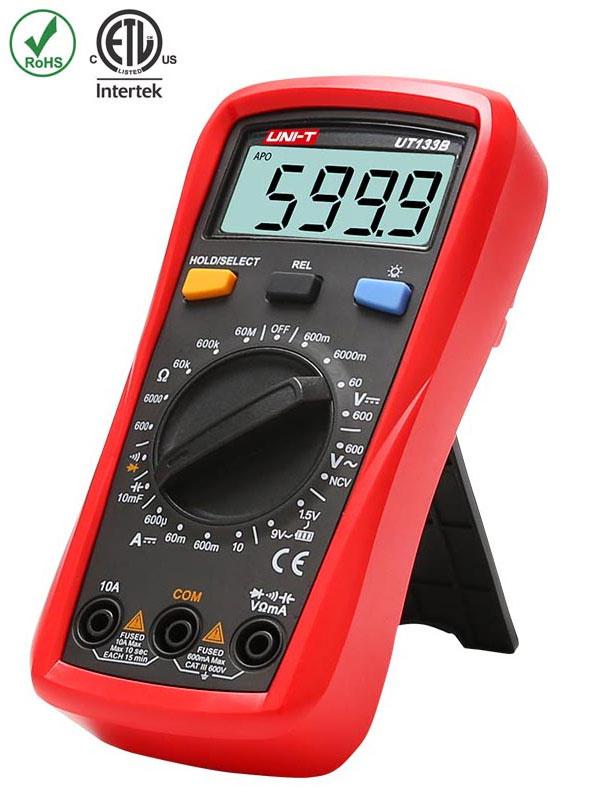 мультиметр UNI-T UT133B: недорогой мультиметр начального уровня