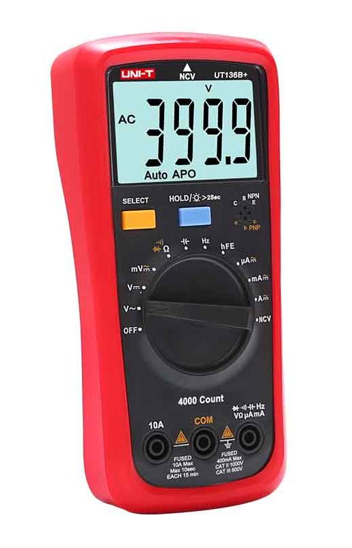 мультиметр UNI-T UT136B+: недорогой мультиметр начального уровня