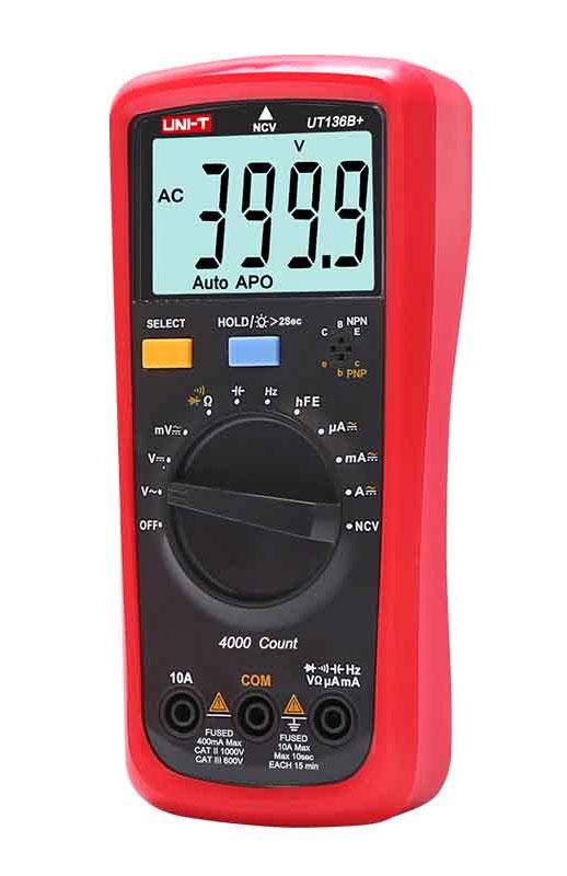 мультиметр UNI-T UT136С+: недорогой мультиметр начального уровня