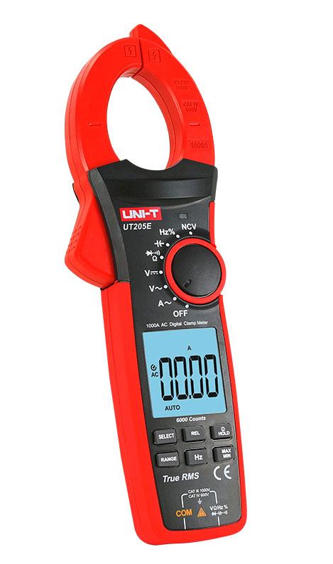 токовые клещи UT205E UNI-T: обладают высокими техническими характеристиками и качеством