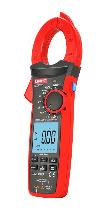 токовые клещи UT207B UNI-T: обладают высокими техническими характеристиками и качеством