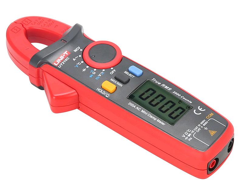 токовых клещи UT210C UNI-T: идеальны для измерения малых токов