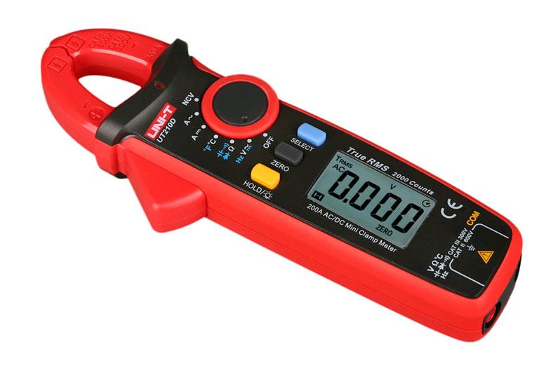 токовых клещи UT210D UNI-T: идеальны для измерения малых токов
