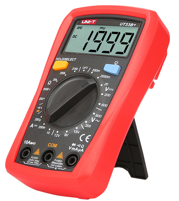 Стандартная комплектация мультиметра UT33B+