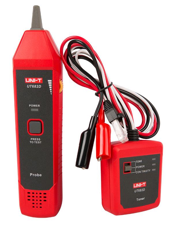 кабельный тестер UT682D: стандартная поставка