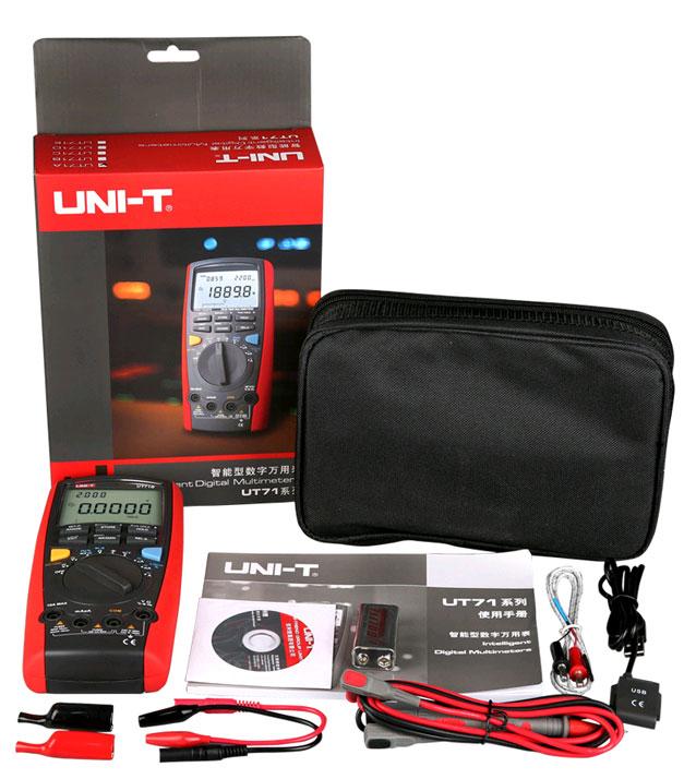 UT71B UNI-T: стандартная комплектация