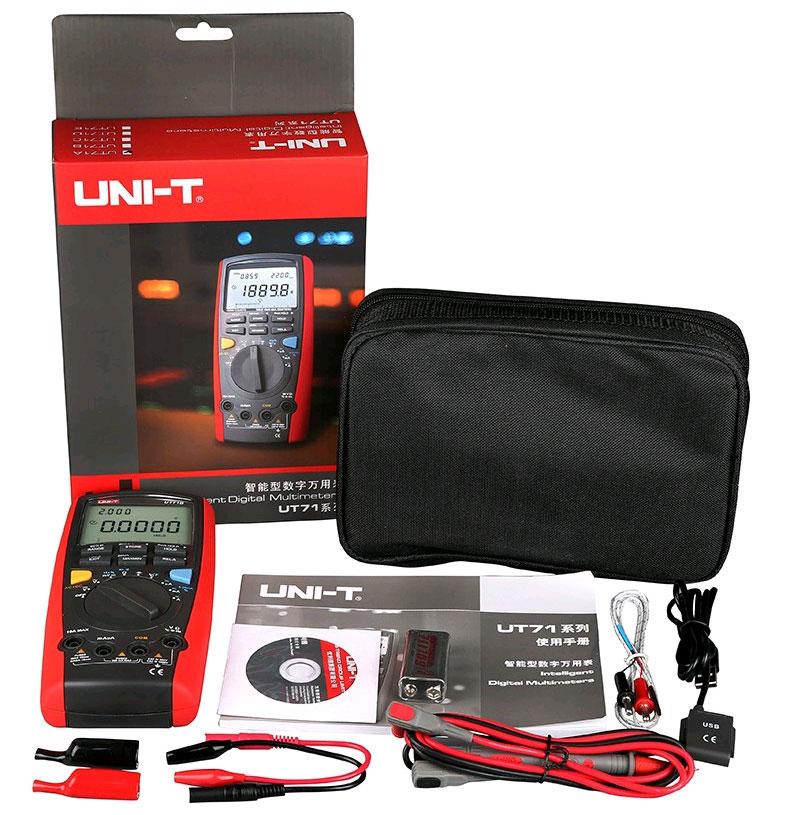 UT71C UNI-T: стандартная комплектация