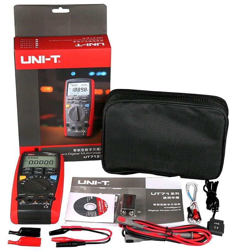 UT71D UNI-T: стандартная комплектация