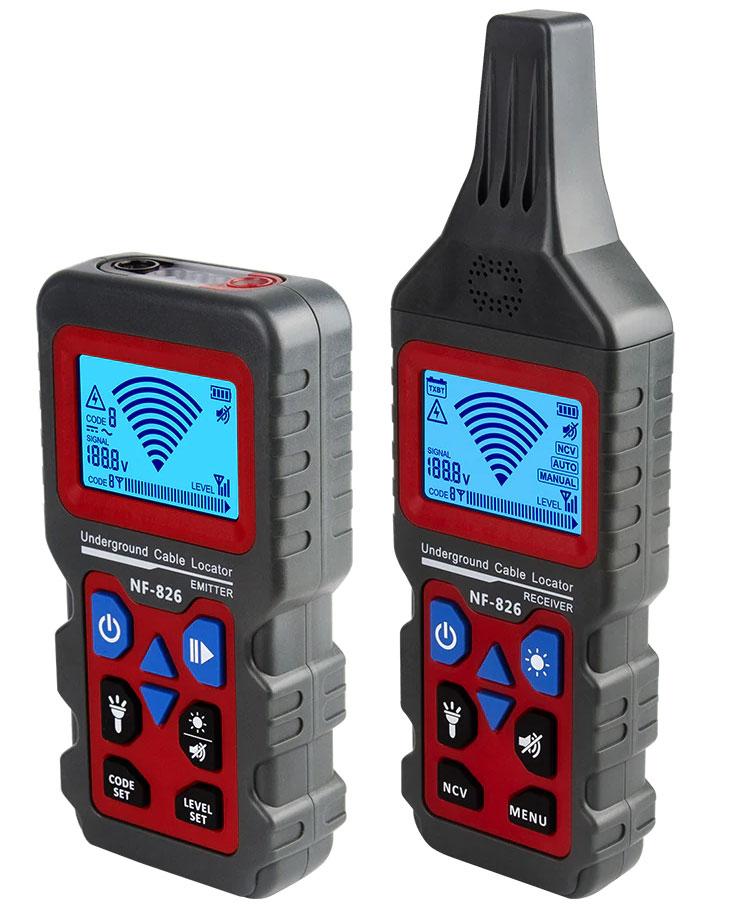 Кабельный тестер NF-826 Noyafa наиболее высокофункциональный инструмент для поиска скрытой проводки