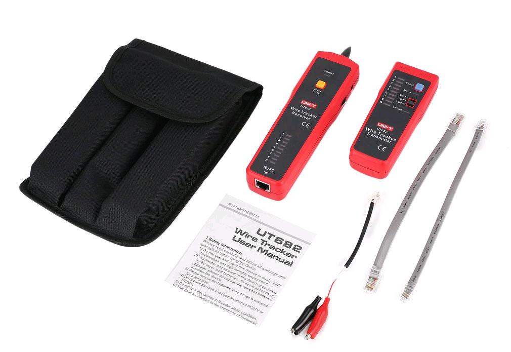 кабельный тестер UT682: стандартная поставка