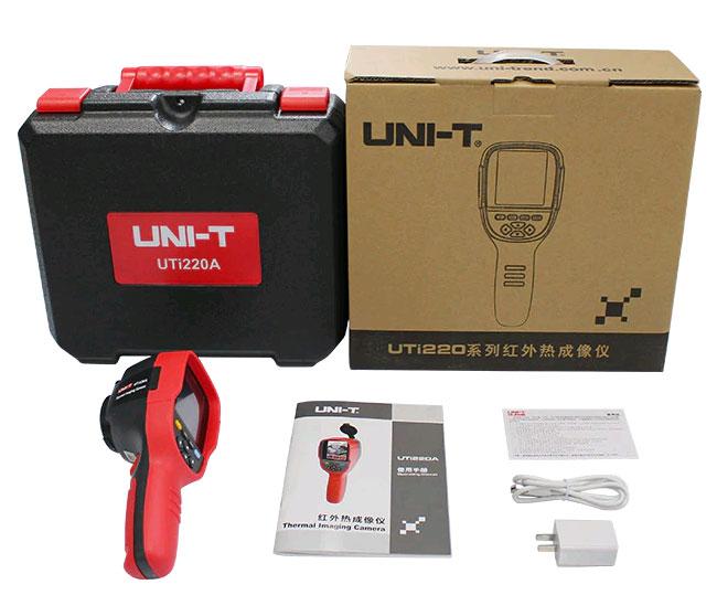UTi220A тепловизор UNI-T, комплект поставки