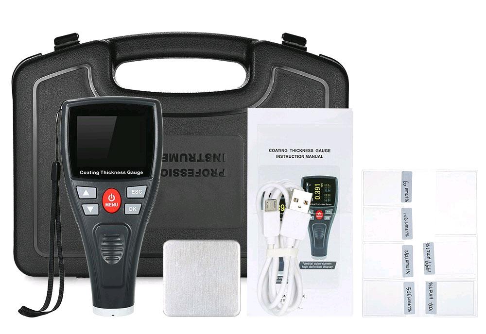WT2100 стандартная комплектация тестера краски Wintact