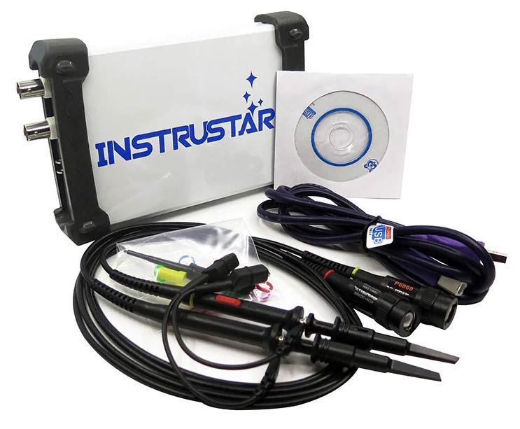 ISDS210A осциллограф Instrustar, стандартная комплектация